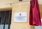 Inauguración del aula de estudio en Pozo Estrecho