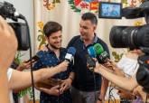 Recepción de Alejandro Solano, percusionista ganador del Premio Filón en el Cante de las Minas 2019