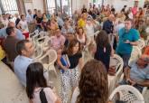 Asamblea en Los Urrutias sobre la mejora de los pueblos ribereños del Mar Menor