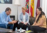 Reunión vicealcaldesa de Cartagena con representantes de Accem