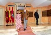 Entrevista de la alcaldesa de Cartagena con el presidente de la Asamblea Regional