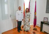 Recepción general comandante Fuerza de la Protección de la Armada Carlos Pérez-Urruti Pérez