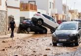 Consecuencias de las fuertes lluvias en Los Nietos