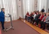 Recepción de las presidentas de OMEP, AMEP, AFAMMER y próxima de COEC