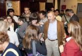 Arturo Pérez Reverte en la inauguración de los Premios Mandarache y Hache