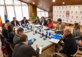 Reunión Foro Interadministrativo Mar Menor en Los Alcázares