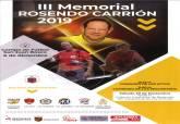 Cartel del III Memorial Rosendo Carrión de fútbol