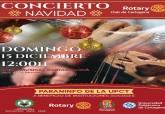 Concierto de Navidad del Rotary Club Cartagena