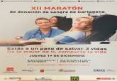 XII Maratón de donación de sangre