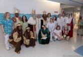 Visita de los Reyes Magos al Hospital de Santa Lucía
