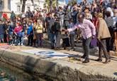Concentración en homenaje a las personas fallecidas en el Mediterráneo