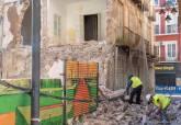 Comienza la ejecución de las medidas cautelares por el derrumbe de la mediana del edificio de en Aire y Cuatro Santos