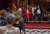 Mesa redonda por el 8 de marzo, día Internacional de la Mujer