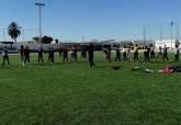 Alumnos del CEIP San Fulgencio de Pozo Estrecho comparten jornada de rugby con el C.R.U.Cartagena dentro del Programa ADE