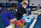 Operativo de emergencia social del Ayuntamiento para el reparto de comida y medicamentos