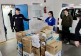 Las Escuelas Infantiles donan 26.500 pares de guantes