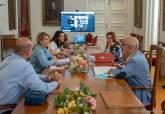 Reunión de la Junta de Gobierno que se ha celebrado de forma semipresencial