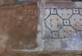 Proceso de restauración de el Edificio del Mosaico para incorporarse a la visita al Barrio del Foro Romano