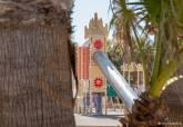 Presentación de las obras de revitalización en el parque Jéssica de La Manga