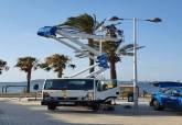 Instalación de wifi gratuito en el paseo de Playa Honda
