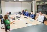 Reunión de la alcaldesa con la Asociación de Promotores Inmobiliarios