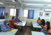 Reunión del Ayuntamiento de Cartagena con representantes de PatínenFila