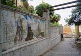 Mosaicos de Luzzy y Navarro en el Paseo de Enrique Gabriel Navarro en el Parque de Alfonso Torres