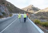 Obras Cedacero carretera de Isla Plana