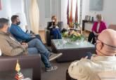 Reunión del Gobierno municipal con los hosteleros tras el anuncio de cierre de bares y restaurantes para frenar la pandemia