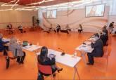 Reunión de la Mesa de la ZAL en el auditorio municipal El Batel