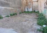 Visita de Manuel Padín a los solares del casco antiguo