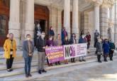 Minuto de silencio por las victimas de la Violencia De Género