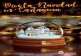 Cartel del Ayuntamiento de Cartagena para las Navidades de 2020