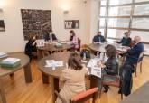 Reunión de la Fundación del Teatro Romano de Cartagena en 2020