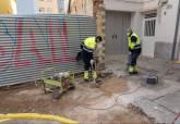Obras acometidas en la calle Huerto de Amaro