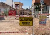Arreglos en la calle Mayor de Canteras.