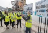 Presentación de las obras de ampliación del muelle Príncipe Felipe en Escombreras
