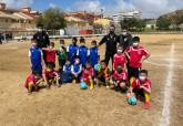Liga comarcal de fútbol base.