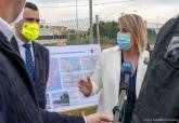 Presentación del Plan Ruido en la vía rápida de La Manga a la altura de Los Belones