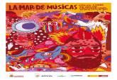 Cartel de La Mar de Músicas realizado por Ricardo Cavolo