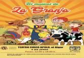Obras La Vega Baja y la Granja de Zenón, en el Teatro Circo Apolo de El Algar