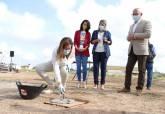 Colocación de la primera piedra en el Colegio de La Aljorra