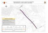 Plano de la mejora del acceso oeste de Cartagena