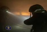Incendio en un sótano de un edificio de 9 plantas en Playa Paraíso