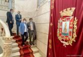 Recepción de la alcaldesa Noelia Arroyo a los cronistas oficiales de Cartagena