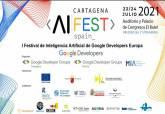 Cartagena acoge el 23 y 24 de julio el Primer Festival de Inteligencia Artificial de Google Developers en Europa
