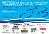 Cartel de la XII Exhibición de Escuelas de Ciclismo y Cadetes