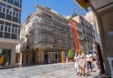 Edificio de Manuel Cánovas en la calle del Carmen con San Roque