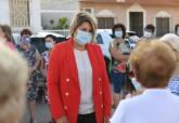 Visita al consultorio médico de Las Lomas del Albujón tras las obras de acondicionamiento