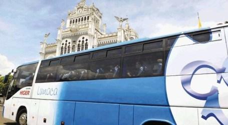 Lumaca se refuerza con 112 buses para la romería
